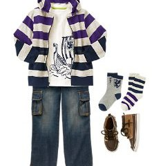 Kids Fashion B-T-S Look