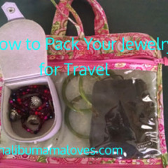 How to Pack Your Jewelry for Travel