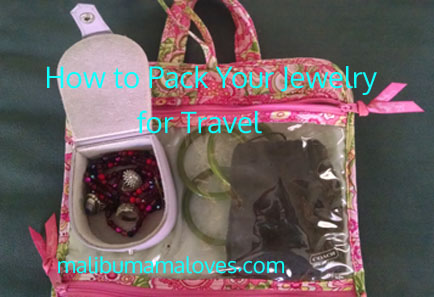 travel with jewelry