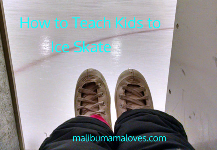 how to teach a toddler to ice skate