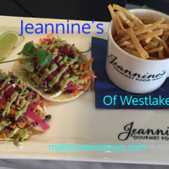 Catering at Jeannine's in Westlake