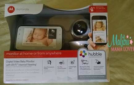 motorola digital video baby monitor review malibu mama loves. Black Bedroom Furniture Sets. Home Design Ideas
