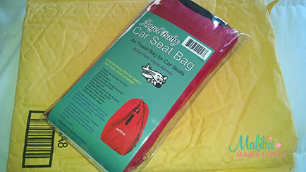 angelbaby travel car seat bag review