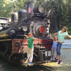 The Sugar Pine Railroad in Yosemite Madera