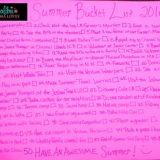 Our Summer Bucket List 2016
