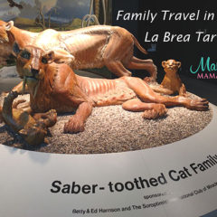 Family Travel: Los Angeles –  La Brea Tar Pits