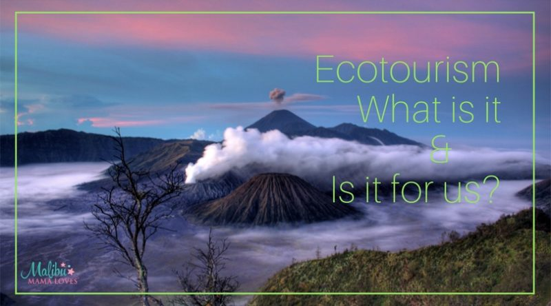 Family travel: Ecotourism, what is it & Is it for us?