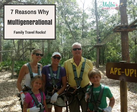 Multigenerational Family travel