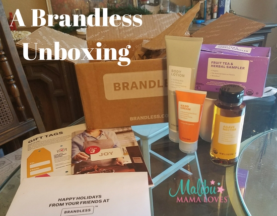 Conscious Living: A Brandless Unboxing